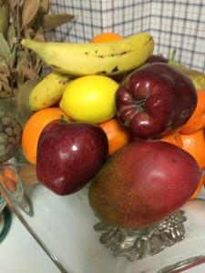 Una selección de frutas invernales.
