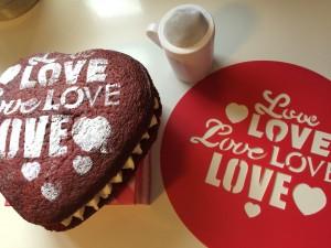 """Plantilla """"Love"""""""