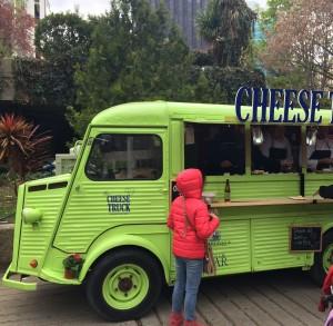 Camión de quesos