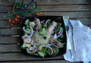 Ensalada de Quinoa y Melva.