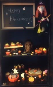 Merienda Halloween.