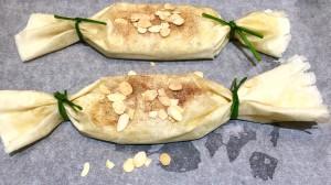 Pastelas de pollo marroquí aún sin horno.