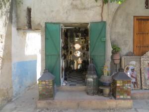 Artesanía de Marruecos.
