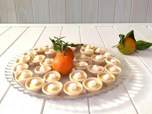 Tartaletas de Mandarinas y Nubes