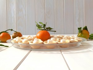 Mini tartaletas de Mandarinas