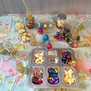 Chocolates y chuches para Pascua