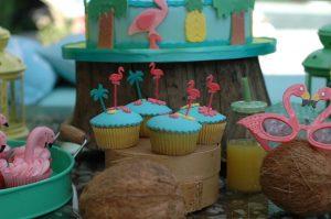 """Cupcakes"" de Chocolate veraniegos"