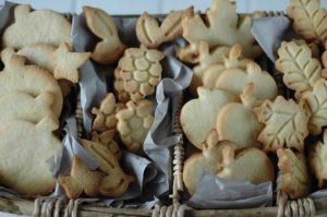 Galletas de mantequilla otoñales