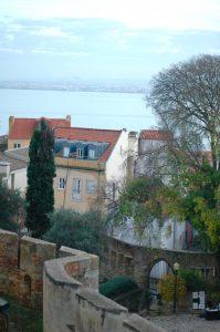 Lisboa desde el castillo