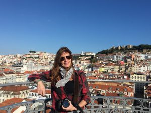 Lisboa desde el Elevador de Santa Justa