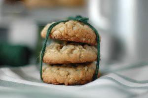 Cookies de chocolate blanco y nueces de macadamia