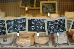 Deliciosos quesos franceses