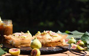 Pastela de Higos y crema de queso