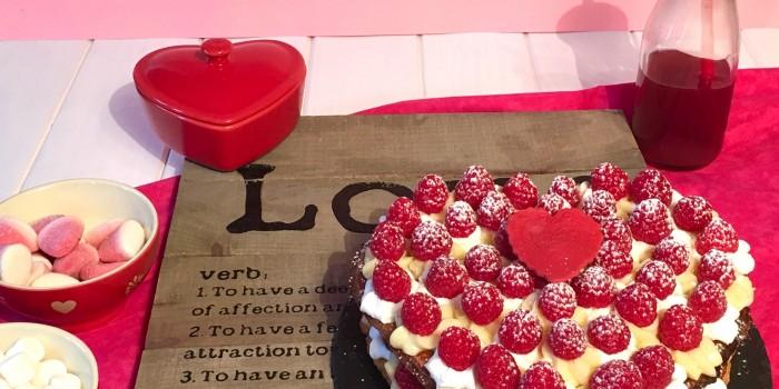 Tarta San Valentín.