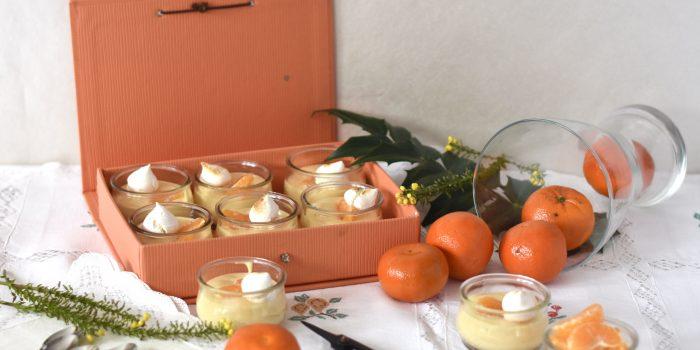 Natillas de mandarina